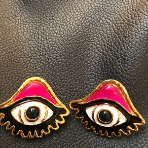 Dsquared2 Eye Earrings
